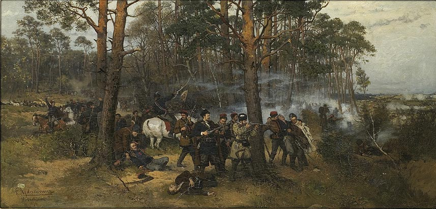 Scene from the 1863 Insurrection