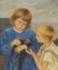 Children with the Jackdaw