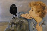 Boy with the Jackdaw